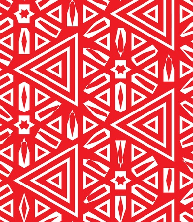 rectangle patterns: Abstract seamless Arabic background with stars and triangles