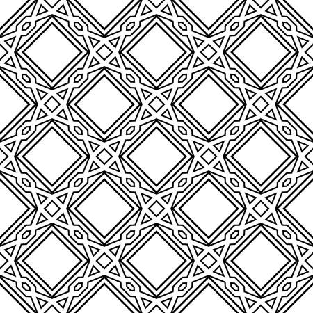 Celtic monochrome seamless pattern Stock Vector - 11064674