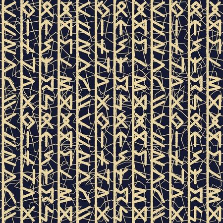 Rune seamles Hintergrund in grau