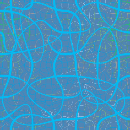 chaotic: chaotic color ribbons repetition vector background