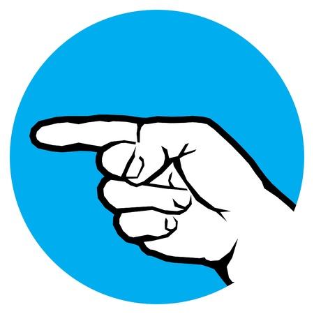 designator: direction by finger gesture