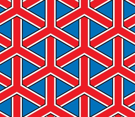 bandera de gran breta�a: Gran Breta�a estilo de la bandera sin problemas Vectores