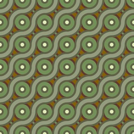 abstrakte nahtlose Crosswave Hintergrund Illustration Illustration