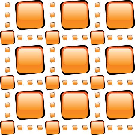 architectonic: arange glass tiles mosaic seamless background