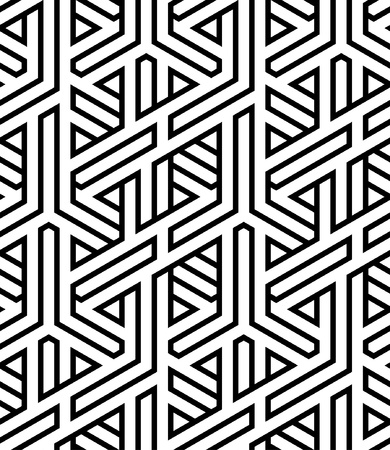 art deco background: abstract seamless braided background vector illustration