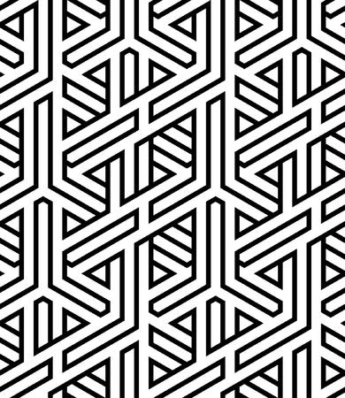 abstrakte nahtlose geflochtenen Hintergrund Vektor-Illustration