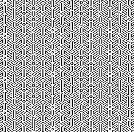 abstract seamless arabic decor background vector illustration