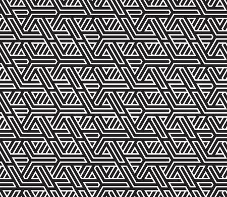 abstract seamless braided background vector illustration Vector