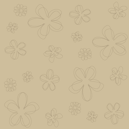broun: seamless abstract floral texture in broun shades