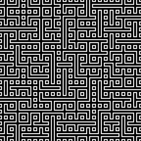 Nahtlose abstrakte geometrische Vektor-Muster für kontinuierliche Replikation