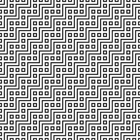 perpendicular: Seamless abstract wave editable seamless pattern for continuous replicate Illustration