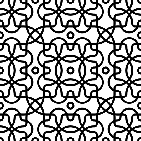 abstract seamless safe grid texture background vector illustration Illustration