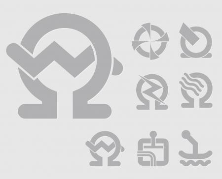 water heater: light machinery symbols for the construction industry icon set for web-design, high quality print and any other creative works and business use