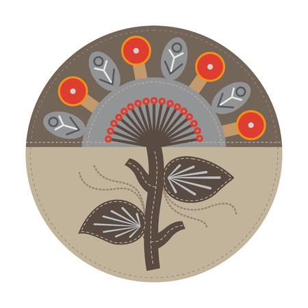 abstrakten Baum für Print, Design, Web-Design und andere kreative Kunstwerke Illustration