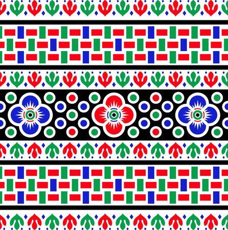 colorful   decorative border