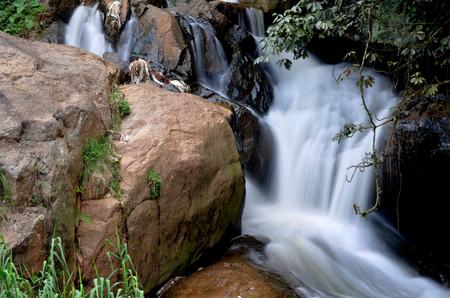 tamil nadu: Waterfall in Ooty, Tamil Nadu, India, Asia Stock Photo