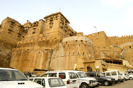 rajasthan: Jaisalmer Fort, Rajasthan, India Editorial