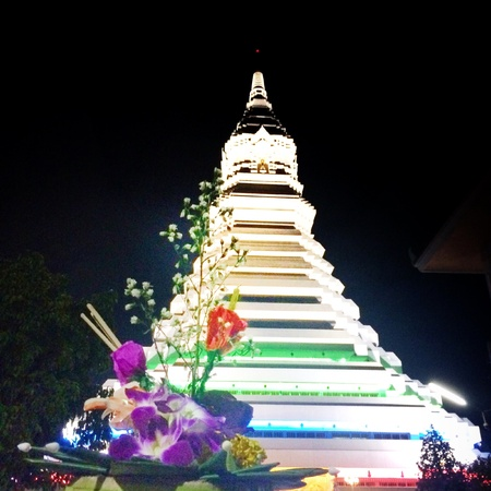 wish: Loy kratong Thailand festival