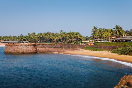 Goa coast. Candolim. India