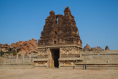 karnataka: Ruinas del antiguo Hampi, Karnataka, India