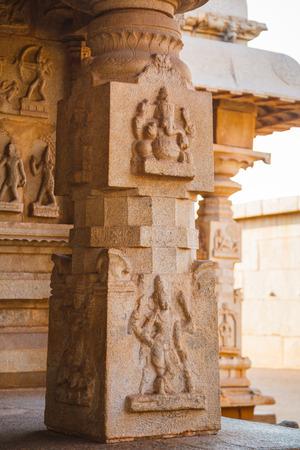 karnataka culture: Old ruins of Hampi Karnataka India