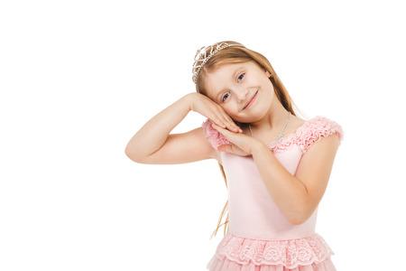 diadem: little girl with a diadem