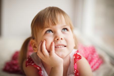 little princess: little girl dreaming