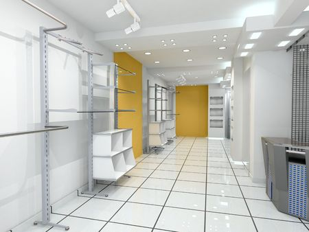 modern shop interior photo