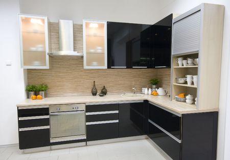 the modern kitchen inter design photo Stock Photo - 1860396