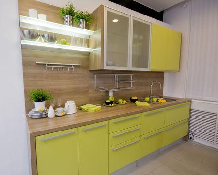 the modern kitchen interior design photo photo