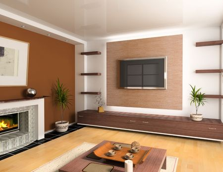 modern interior design  Stock Photo - 1963487