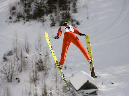 ski resort: winter extreme sport photo