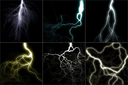 the lighting image set (digital graphic) photo