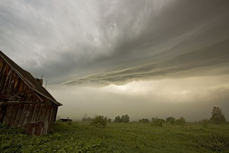 the storm landscape image Stock Photo - 3184226