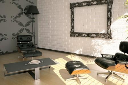 modern interior design(3D rendering) Stock Photo - 4373455