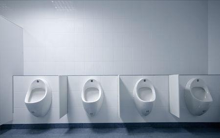 latrina: moderno bagno interno con foto orinatoio fila