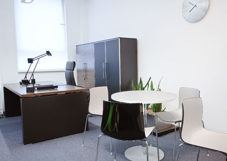 modern office interior  ( photo ) photo