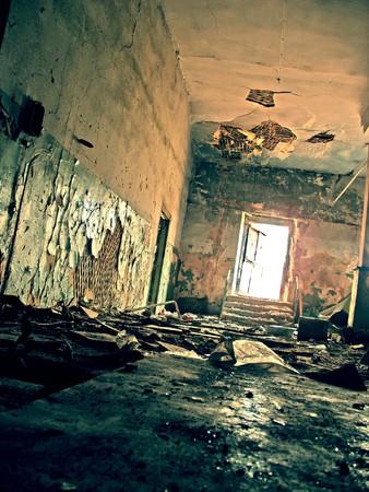 destroyed: die Ruinen der zerst�rten H�user (Foto)