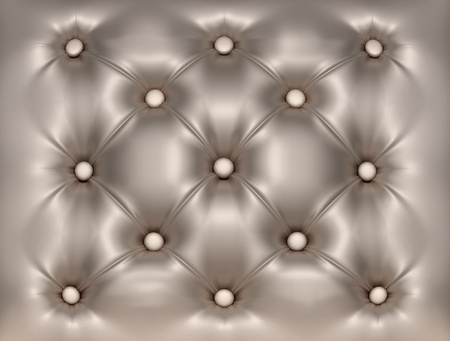 rhomb: Luxury decorated  leather close-up texture Stock Photo