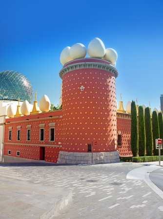 famous Salvador Dali museum in Figueras, Spain  photo