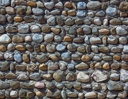 bumpy: old stone wall texture photo