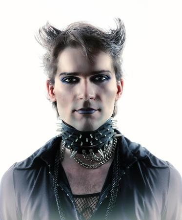 goth-style man Stock Photo - 15693143