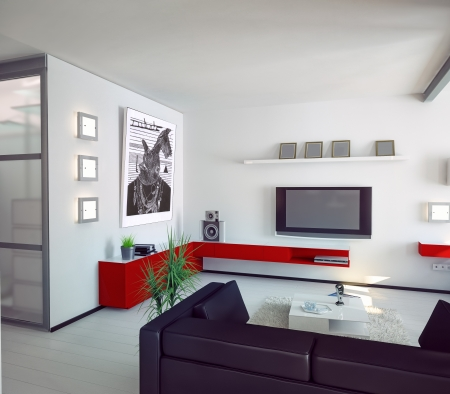modern style apartment concept    photo