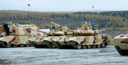 disintegrating: new T-90MC is a Russian main battle tank (MBT)