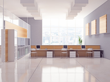 Das moderne Büro Interior Design Standard-Bild - 26085079