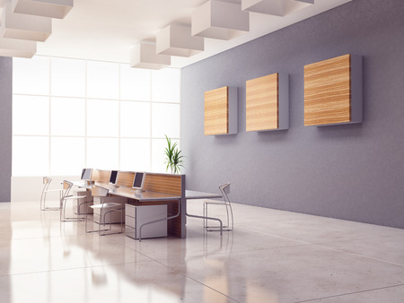 the modern office interior design