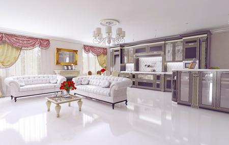 interior design living room: modern living room interior  design concept