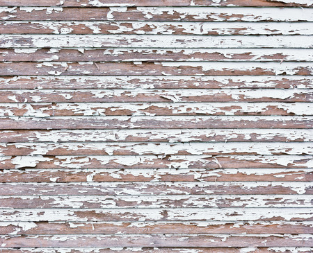 verdigris: Old white weathered wooden background