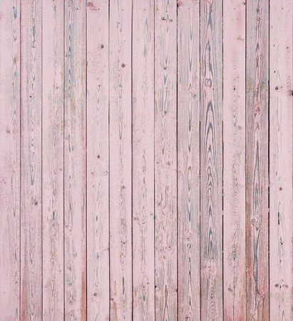 Vintage Pink Wood Planks  photo