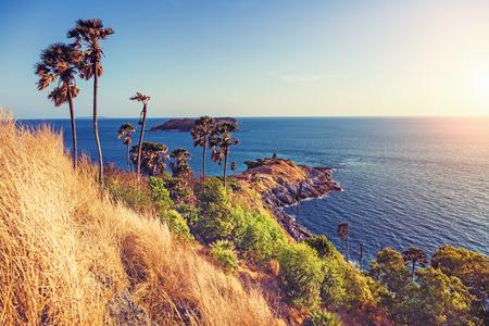 coastline: beautifull sunshine coastline. Phuket.Thailand Stock Photo